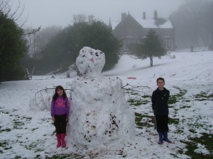 The Hargate Snowman