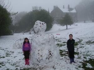 The Hargate Snowman